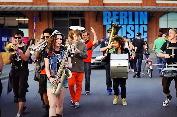 Saxofonistin Miriam Dirr @ Berlin Music Week