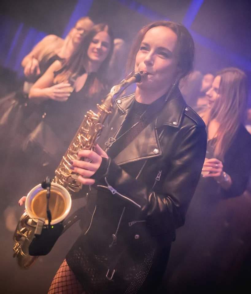 Saxophonistin Miri @ Spindler&Klatt Club Berlin